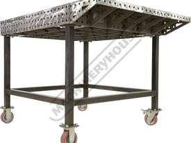 FW1530 CertiFlat FabWing 150 x 300mm Tab & Slot U-Weld - picture6' - Click to enlarge