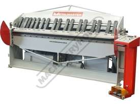 PB-820L Hydraulic NC Panbrake 2500 x 2.0mm Mild Steel Bending Capacity - picture0' - Click to enlarge