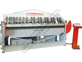 PB-820L Hydraulic NC Panbrake 2500 x 2.0mm Mild Steel Bending Capacity - picture2' - Click to enlarge