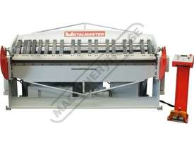 PB-820L Hydraulic NC Panbrake 2500 x 2.0mm Mild Steel Bending Capacity - picture3' - Click to enlarge