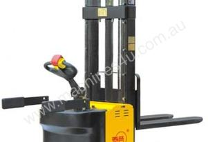 Full Electric High Lift Straddle Stacker