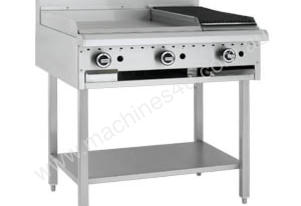Luus Model BCH-3P3C - 300 Grill 300 BBQ Char and Shelf