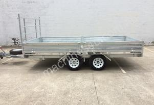 New Ozzi 14x7 Flat Top Trailer Gal Distribute AU