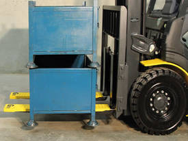 Rubber Forklift Tyne Grip Covers 100 x 1070mm - picture2' - Click to enlarge
