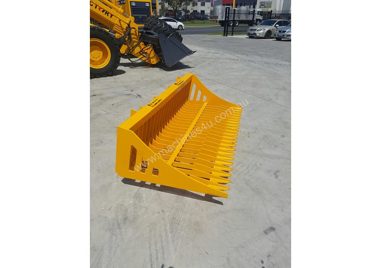 Bobcat / Skid Steer Rock Bucket, Sieve Bucket
