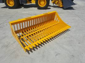 Bobcat / Skid Steer Rock Bucket, Sieve Bucket  - picture2' - Click to enlarge