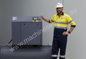Compressor with tank and dryer 7.5kW (10HP)