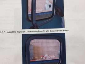 MK102-001 Capsule Boat Wire Reinforced Rectangular - picture1' - Click to enlarge