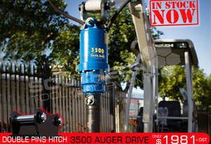 3500 MAX Auger Drive Unit. SUIT 2.5T to 4.5T Excavators ATTAGT