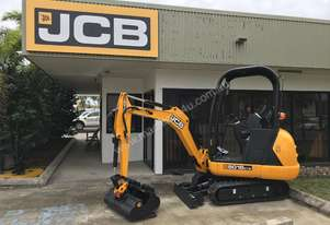 JCB 8018 CTS Mini Excavator On Trailer
