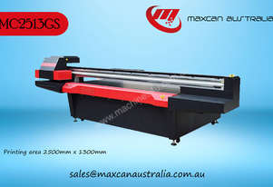 Maxcan Australia MC 2513GS - 16H   UV Cured Flatbed Digital Printer