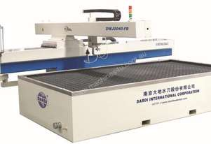 3 Axis Waterjet DWJ2040-FB & C40T (380Mpa Pump) 2000mmx4000mm glass and stone cutting