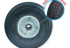 52108 - 260MM PU RUBBER FOAM FILLED PUNCTURE PROOF OFFSET WHEEL