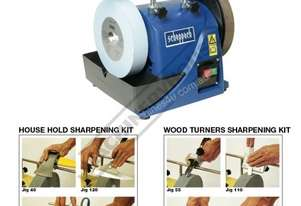 TiGer 2000S PACKAGE Wetstone Grinder Package Deal with + Wood Turners + House Hold Kits Ø200 x 40mm