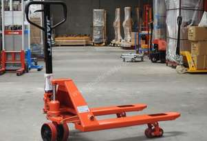 Fork length 900mm short hand pallet truck capacity 2.5t