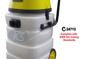 TCS Commercial Industrial 90L Wet & Dry Vacuum Cleaner 3 x 1000W Ametek Motors