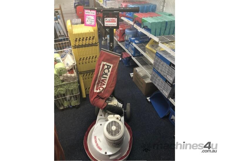 reconditioned polivac suction polishers with 3 month warranty