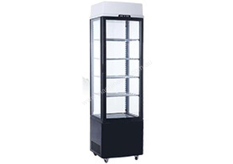 EXQUISITE - CTD235-BLACK - DISPLAY CABINETS - UPRIGHT DISPLAY CHILLERS