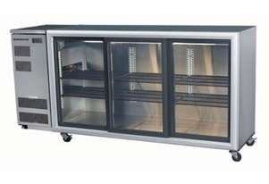 Skope BB580 3SL BackBar Series Three Sliding Doors Bench Fridge - 2060mm