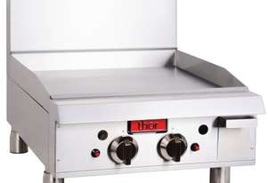 Thor Gas Griddle 24`` manual control with flame failure- NG