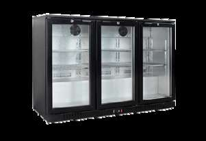 Exquisite UBC330 Back Bar Chiller - 330L Capacity