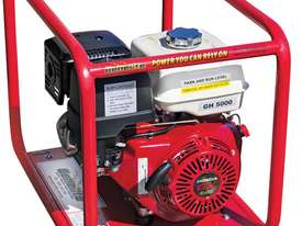 Industrial Petrol 5.0kW/6.0kVA Generator - picture1' - Click to enlarge