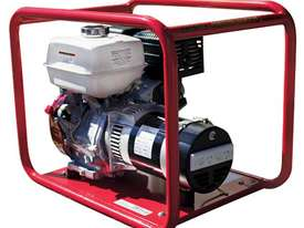 Industrial Petrol 5.0kW/6.0kVA Generator - picture2' - Click to enlarge