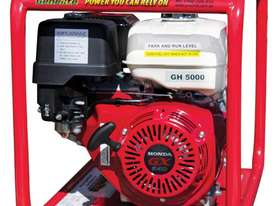 Industrial Petrol 5.0kW/6.0kVA Generator - picture3' - Click to enlarge