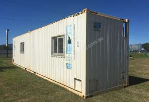 Royal Wolf 12M Steel Container/Mess Hut