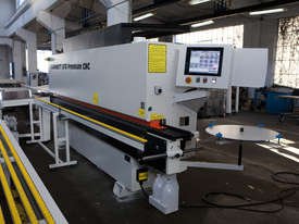 NikMannKZM6-RTF-cnc-v14 edgebander with corner rounder, pre-milling, spray and return conveyor - picture2' - Click to enlarge