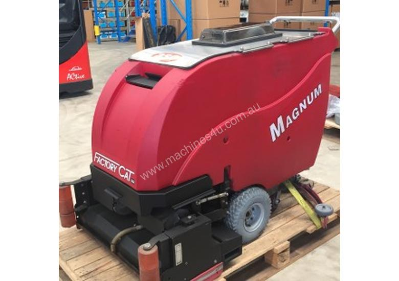 Used Factory Cat MAGNUM SERIES Walk Behind Floor Scrubber In ROUSE - Used riding floor scrubber for sale