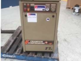 Champion F7A Rotary Screw Compressor - picture0' - Click to enlarge