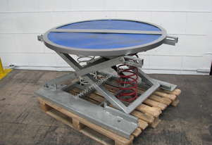 Self-Leveling Table Pallet Positioner Turntable