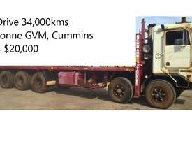 Kenworth K100E Cab Chassis Tri Drive Tandem Steer 10X6 - picture4' - Click to enlarge