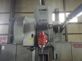Kiheung Combi U-11 CNC Universal Milling Mahcines A-2. Huge Savings. - picture1' - Click to enlarge