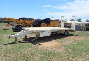 Single Axle Beaver Tail Tag Trailer