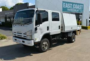 2009 ISUZU NPS 250 4x4 Service Vehicle Dual Cab