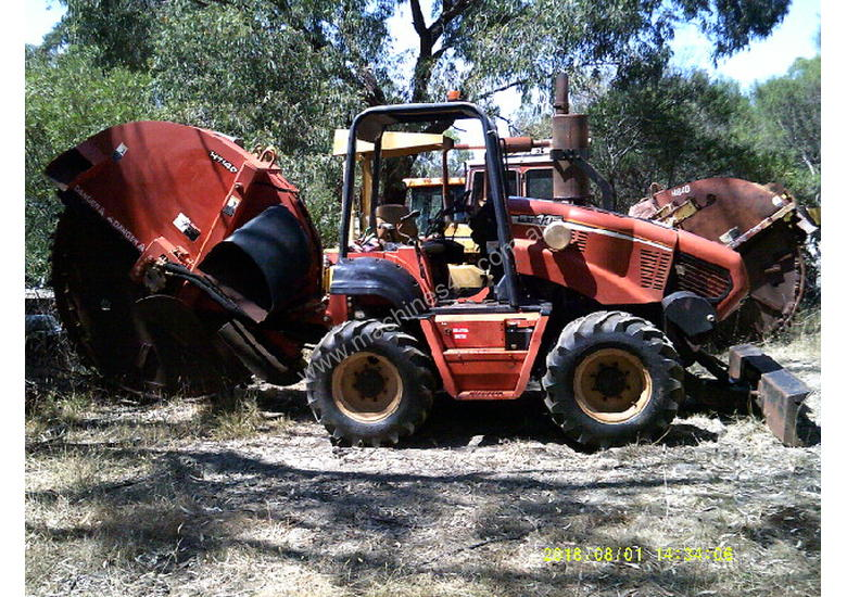 RT-115 rocksaw , 2006 model , 1500hrs , H-911 trencher available