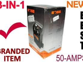 Battery Charger ROSS 50-amps 3-in-1 LOADED MODEL**