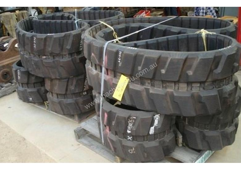 Rubber Tracks New and Used Different Sizes