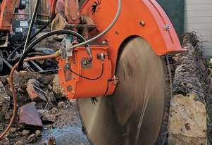 Echidna D1S/32 Diamond Rock Saw - Excavators 1.5 to 2.5 tonnes