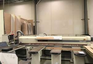 SCM BEAM SAW 2002 SIGMA 65 IN WORKING CONDITION  includes dust extractor and scissor lift