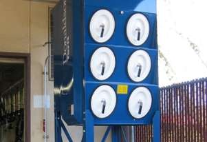 Donaldson Torit Packaged Downflo Oval Dust Collector DFOI 6