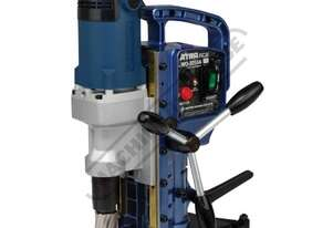 WO-3250A Portable Magnetic Drill Includes User Friendly Reversible Feed Handles Ø32mm Drill Capacit