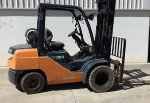 Toyota 3.0 Ton LPG Forklift in good condition located in Brisbane