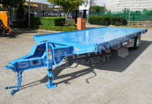 Interstate trailers 9 Ton Single Axle Container Trailer [Super Series] ATTTAG