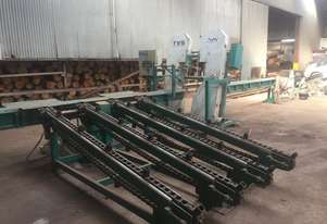Woodmizer TVS sawmill with infeed & outfeed system 2009
