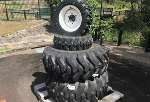 Industrial tyres & Rims to suit New Holland Boomer 40 of 50
