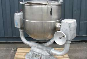 Stainless Steel Jacketed Steam Tilting Kettle - J Curtain & Son