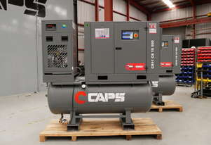 CAPS 2nd Generation CR11 CS 10 500 49cfm 11kW 10Bar Rotary Screw Air Compressor